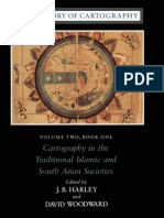 The History of Cartography Vol 2, Book 1 - Cartography in the Traditional Islamic and South Asian Societies (History Maps eBook)