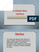 A Classe Dos Verbo s