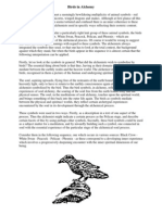 Unknown Author - Birds in alchemy