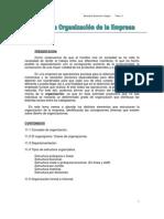 Organizacion de La Empresa Estructuras Organigramas