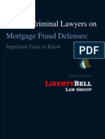 Federal Criminal Lawyers on Mortgage Fraud Defenses