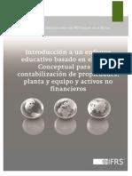 Introducción a un enfoque  educativo basado en el Marco  Conceptual para la  contabilización de PPE y activos no  financieros. Introduction to FBT - Spanish 2013 10 01