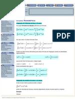 ._ Integrais trigonométricas _.