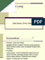 Komunikasi yang effektif fk.ppt