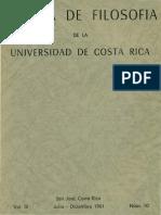 Portada e indice Revista de Filosofia UCR Vol.3 No.10.pdf