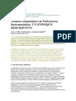 Analisis de Ergonomia en Enfermeria Uinstrumentista