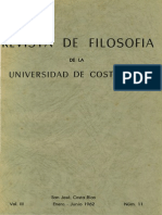 Portada e indice Revista de Filosofia UCR Vol.3 No.11.pdf