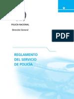 5 Reglamento Del Servicio de Policia
