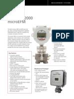 Scanner 2000 Technical Data Sheet