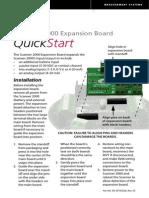 Scanner 2000 Expansion Board Quick Start Guide (PDF)