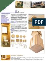 Tipos de Troncos de Madera Para La Construccion de Casas de Madera.