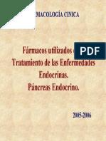 Farmacos Utilizados en El Tratamiento de Las Enfermedades Endocrinas.