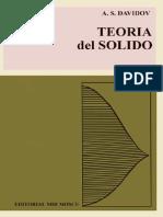 Fisica Del Estado Solido - Teoria Del Solido 01