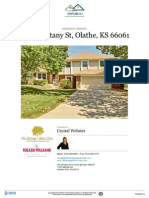 Residential Property Report - 312 S Brittany Drive Olathe, Kansas 66061