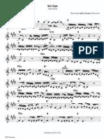 SÓ HOJE (J QUEST) partitura
