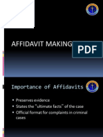 Affidavit Making2