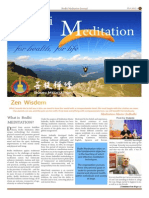 Bodhi Meditation LA Journal 2013 Vol 6