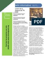 TIRRC Newsletter SPANISH - August 2009