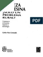 Cajamarca y La Pobreza