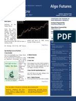 Algo Futures - Trending Now - Issue 4 - |  October 27th, 2013 | STRATEGIES FOR TRADING IN HIGH FREQUENCY MARKETS