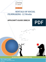Social Film Making Online Course Applicant's Guide 2009-10