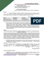 CEF - Correspondencia Oficial - M. Tereza