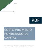 4.3 Costo Promedio Ponderado del Capital.docx
