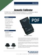 Calibrador - Larson Davis CAL200