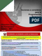 MÓDULO 02 - Programación Multianual, F.F Y F.C. para PIP [INEDI]