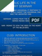 catholic-life-in-the-spirit-seminar.ppt