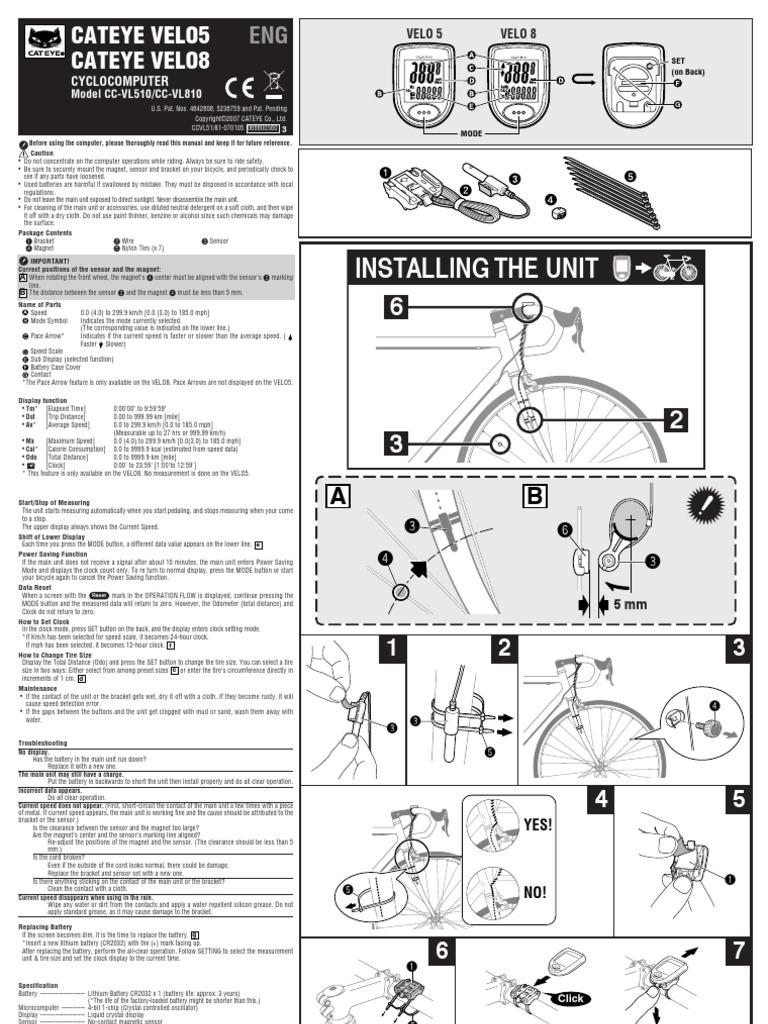 Cateye velo 8 инструкция на русском immortalknights45.