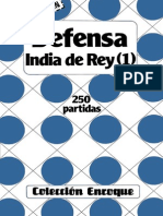 Defensa India de Rey 1 - 250 Partidas