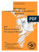 Historia de la Doctrina de la Seguridad Nacional - Edgar de Jesús Velásquez Rivera