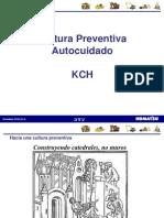 Cultura Preventiva Autocuidado Agosto 2013