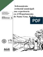 Ordenamiento Territorial de SC FAO