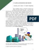 MS 42 UNIT 5 Capital Budgeting Decisions.doc
