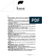 Dornbusch Macroeconomics(8ed)Glossary