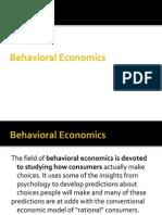 A brief about Behavioral Economics