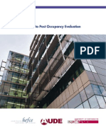 1 Guide to Post Occupancy Evaluation