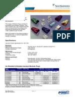 AMP Modular Plug Catalog