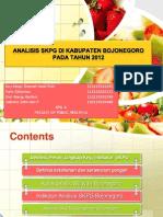 Analisis Skpg Di Kabupaten Bojonegoro Pada Tahun 2012