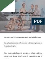 PSICOFARMACOLOGÍA ANTICONVULSIVANTES