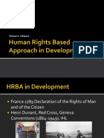 Human Rights Based Approach in Development