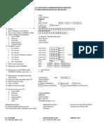 Formulir Calon PPG