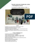 Modulo Reemplaza La Salida de Audio Centrojapones.com.Mx