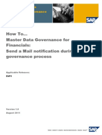 Send a Mail Notification During the MDGF Process