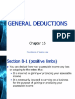General Deductions Australian Law