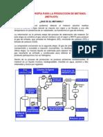 Tecnologia Propia Para La Produccion de Metanol Nora