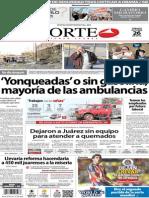 Periódico Norte de Ciudad Juárez 26 de Octubre de 2013