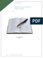 La escritura, la estrcutura y la redacción de un trabajo cientifico por Luis Arturo Rivas Tovar